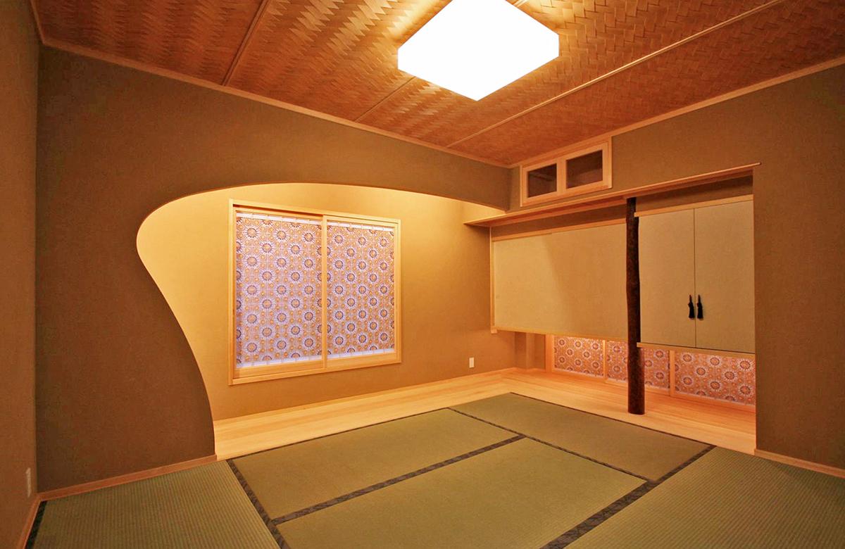 デザインや素材にこだわった和室