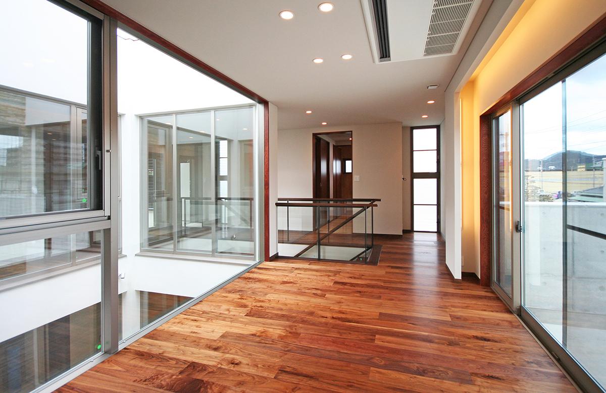 多目的に使用する2階ホール