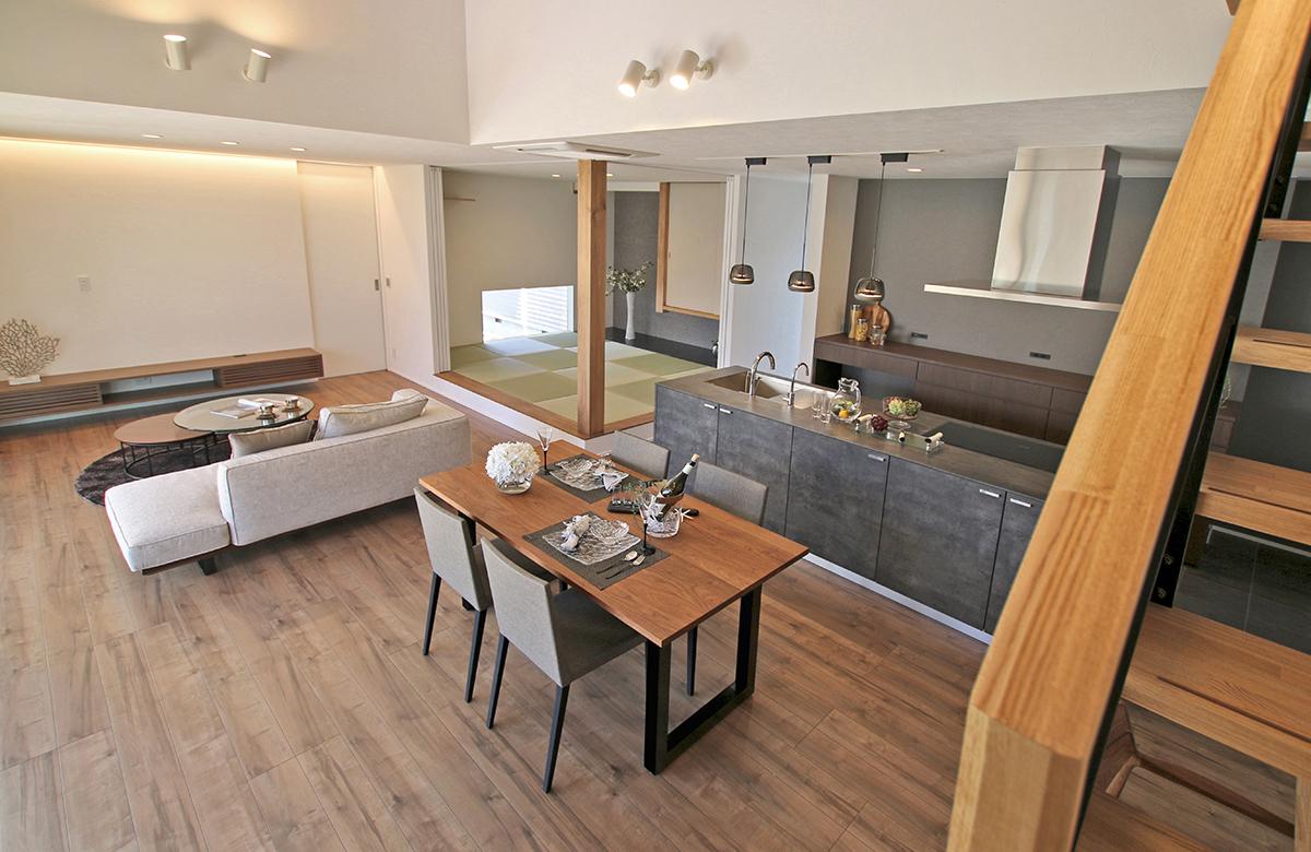 キッチンはデザインと扱いやすさのバランスに優れるkitchenhouseでオーダー